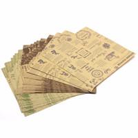 folha de rosto venda por atacado-6 padrões de dupla face origami craft paper 60 folhas diy papéis dobrados do vintage presentes do cartão de papel de embalagem presentes decoração de papel de embalagem