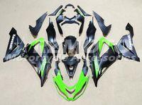 Wholesale Kawasaki 636 Motor - New ABS motor Fairing Injection Mold Full set Fit For kawasaki Ninja ZX6R 599 636 13-16 ZX-6R 2013 2014 2015 2016 2017 cool green black