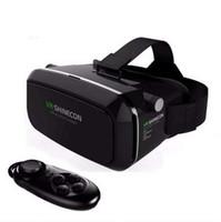 vr brillen zum verkauf großhandel-Heiße Angebote! new shinecon vr google vr mit kopfhörern vr virtual reality 3d-brille für 4,5 - 6,0 zoll smartphone