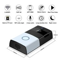 Wholesale ios app security - Video Doorbell with 720P HD Wifi Security Camera,Built-in 8G Card,Real-Time Video,Two-Way Audio,Night Vision Smart App for IOS and Android
