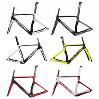 Wholesale xs frameset - 2018 MCipollini NK1K T1000 1K or 3k frame Full Carbon Road Bike Frame,fork,headset,seatpost Size:XXS,XS,S,M,L, bicycle frameset