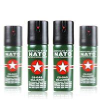 Wholesale Tear Spray - Nato Self-Defense Pepper Spray 60ml Oc Spray Tear Gas Outdoor Camping Hiking Survival Equipment Lady EDC Tools
