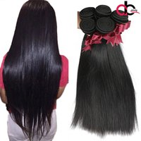 Wholesale Queen Piece - 9A gaga queen Hair Brazilian Straight Hair 3 Bundles Virgin Unprocessed Brazilian Human Hair Extensions Brazilian Virgin Straight