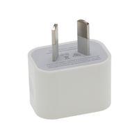 использованная ежевика оптовых-Зарядное устройство AU с одним USB-портом и выходом постоянного тока 5 В, адаптер питания 2 А, используется для iPhone, iPad, мобильных телефонов Samsung, планшетов оптом