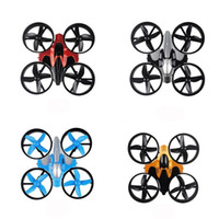 Wholesale remote control helicopter children - Mini UFO Quadcopter Drone Four Axis Headless Mode Children Remote Control Toys Nano RC Helicopter Mode Gift Toy 55bn W