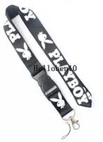 Wholesale imitation electronics for sale - Group buy Llavero Lanyard Key Chain Cuello Colgar Llaves Cinta Sport Moda Playboy