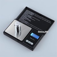dijital elektronik cebi toptan satış-200g x 0.01g Siyah Cep Boyutu Elektronik LCD Dijital Kişisel Hassas Takı Ölçeği, Elmas Altın Denge Ağırlığı Ölçekler