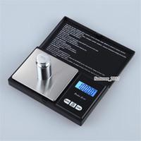 jóias escalas digitais venda por atacado-Escala pessoal eletrônica da jóia da precisão do LCD Digitas do tamanho do bolso de 200g x de 0.01g, escalas do peso de equilíbrio do ouro do diamante