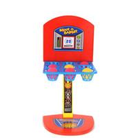 jogo de tiro de basquete venda por atacado-New Fashion Kid brinquedos Mini Basquete Brinquedo carrinho de basquete interior Pai-Filho De Diversão Em Família Jogo de Mesa De Brinquedo De Basquete Jogos de Tiro
