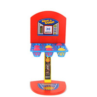 Wholesale Fun Shoots - New Fashion Kid toys Mini Basketball Toy basketball stand indoor Parent-Child Family Fun Table Game Toy Basketball Shooting Games