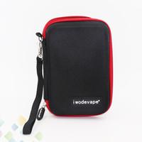 Wholesale E Cig Carry Bag - iwodevape Bag IQOS E Cigarette Vapor Travel Handbag Portable Carrying Case Pocket E Cig Case DIY Tool Cases Fit E Cigarette DHL Free