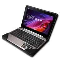 laptops teclado para asus venda por atacado-Caso de capa de laptop de teclado de couro de alta qualidade para ASUS Transformer livro T100HA 10.1 polegadas