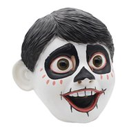 Wholesale mask movie props for sale - Newest Funny Movie Anime CoCo Miguel Cosplay Full Head Latex Mask Fancy Ball Helmet Costume Props Masks