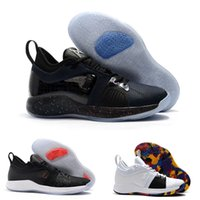 2018 Male Basketball Shoes New High Quality Paul George PG 2 NCAA  PlayStation Taurus Black Black Red Sneakers drop shipping wholesale f1b2f32f5fa