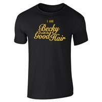 crew hair Australia - Youth Round Collar Customized T Shirts Men'S Crew Neck Short Sleeve Compression Becky With The Good Hair T Shirts
