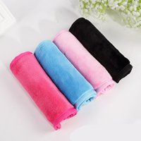 Wholesale makeup tool roll for sale - Makeup Remover Towels Superfine Fiber Practical Water Uptake Face Cleansing Cloth Portable Towel Tools High Quality yf Ww
