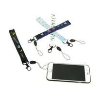 charmes de smartphone achat en gros de-Dessin animé mignon poignet main téléphone portable chaînes mobiles sangles porte-clés cordons de charme bricolage accrocher corde lariat lanyard