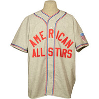 Wholesale road stars - American All-Stars 1945 Road Jersey 100% Stitched Embroidery Logos Vintage Baseball Jerseys Custom Any Name Any Number Free Shipping