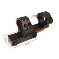 11 mm askı toptan satış-Taktik 25.4mm Halka Dağı Yüksek Profil Entegre Tüfek Kapsam Weaver Picatinny Avcılık Için 11mm Ray