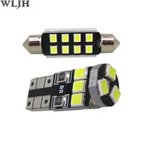 Wholesale audi sq5 online - WLJH x Canbus Car LED Light Interior Complete LED Lighting Upgrade kit Package for Audi Q5 SQ5