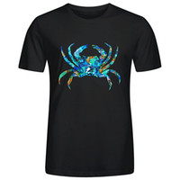 ingrosso granchi blu-Blue Crab Art By Sharon Cummings Magliette per uomo