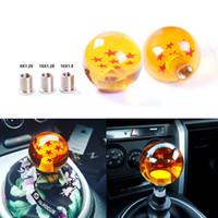 Wholesale Amber Knobs - Car Gear Z Shift Knob Dragon Ball 7 Stars Amber-colored knob M12 10 8 for Honda