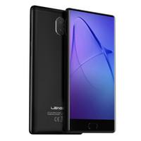 Wholesale leagoo phone online - Original Leagoo Kiicaa Mix Mobile Phone FHD MTK6750T Octa Core Android GB RAM GB ROM Dual Back Cameras Fingerprint