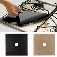 Wholesale bamboo stave resale online - Reusable Kitchen Mat Gas Range Stove Pads Top Burner Protector Liner Cover For Cleaning Dropshipping
