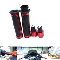 ingrosso grip in alluminio-Per 7/8 '' CNC Motorcycle Maniglia in alluminio LIDS / Grips Grips per Honda CBR600RR CBR1000RR CBR929RR