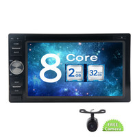 Wholesale android system car radio resale online - EinCar Double din Universal Octa Core Wifi Mirrorlink Android Car Audio Stereo system in Dash Car DVD Player Video