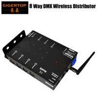 Wholesale Quality Communications - 8Channels DMX Distributor with 2.4G Wireless DMX 512,Communication Distance 300m High Quality and Variety Use DMX Splitter