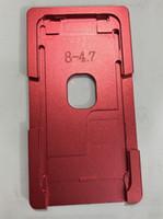 molde da tela do lcd do iphone venda por atacado-Novo molde de alumínio de precisão para o iphone 8g 8 plus laminador molde laminado de tela de LCD e posicionamento de esteira de alinhamento
