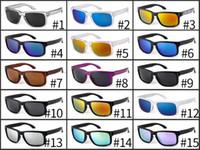 vr 46 toptan satış-2018 YENI MARKA Orjinal Kalite VR 46 Güneş Gözlüğü gözlük gözlük Mat Siyah Gri Iridyum Polarize LENS ERKEKLER IÇIN 15 RENK seçenekleri 9102