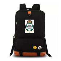 Wholesale backpack club for sale - Group buy Santos Laguna backpack day pack Football club school bag Soccer packsack Computer rucksack Sport schoolbag Outdoor daypack