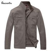 Wholesale middle aged plus size clothing for sale - Group buy 2018 Men Jacket Coat Middle Aged Men Dress Plus Size M L XL XL XL Men s Clothing Autumn Outwear