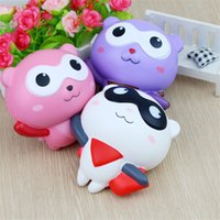 Wholesale color block style for sale - Group buy Novelty Doll Squishy Slow Rising Stress Reliever Toy Cartoon Squishies Decompression Toys Multi Color New Arrive dy C