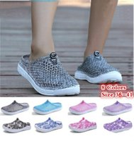 Wholesale wholesale women shoes for sale - Hot sale summer women beach slipper clogs shoes bathroom slippers clogs for women size 36-41 free shipping