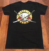 ingrosso rose giapponesi-Guns N 'Roses GNFNR con Samurai Bullet T-Shirt- Giappone Taglia disponibile S-2XL N