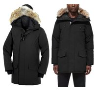 Wholesale mens cotton detachable collar for sale - Group buy Star Same Style Pocket Decoration Mens Winter Coat With Fur Hair Collar Fashion Coat Thickening Mens Designer Winter Coats