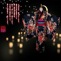 Wholesale Japanese Kimono Dresses - Anime Hell Girl Supia-yisol Jigoku Shoujo Enma Ai Cosplay Outfit Japanese Kimono Maid Lolita Costume Princess Dress Vestidos