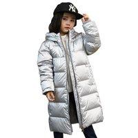 kışlık ceketler unisex parkas toptan satış-Çocuk Aşağı Ceketler 2018 Kış Erkek ve Kız Parkas Palto Çocuklar Beyaz Ördek Aşağı Kabanlar Boys Ceketler Kız Parkas Coats