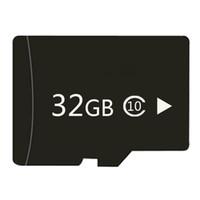 handy-flash-player großhandel-Reale Kapazität 32 GB Speicher Trans-Flash-TF-Karte mit Adapter für Handy-MP3 / 4-Player-Tablet-PC
