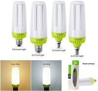 Wholesale E27 E26 E14 LED Corn Lamp W W W AC85 V No Stroboscopic led bulbs for Indoor Energy Saving Light