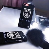 Wholesale trends for phone cases - Luxury brand trend letter matte phone case shell for iPhone X 8 8plus hard black cover for iPhone 6 6S 7 7plus