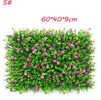 ingrosso erba di prato di plastica-5 modelli di simulazione vegetale parete milano erba eucalipto prato artificiale simulazione plastica prato sfondo decorativo pianta muro