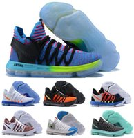 Wholesale Cheap Kds Basketball Shoes - Cheap Kd Basketball Shoes Sneakers Men Kevin Durant Kds 10 V Bhm Elite Low Red Sports China Athletics Brand Man Femme Trainers Shoe