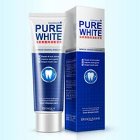 Wholesale Fresh Retail - pure white toothpaste cranberry Herbal Mint Fresh Toothpaste improve gingival swelling whitening teeth repair of oral ulcers retail