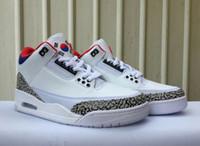 бесплатная доставка обувь корея оптовых-(С Коробкой)Бесплатная Доставка Корея Сеул Баскетбол Обувь Мужская Белый Красный Кроссовки