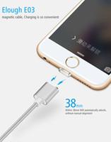 manyetik usb veri kablosu toptan satış-Sıcak Satış Mikro USB Manyetik Kablo 3 in 1 Tip-c Yıldırım Data Sync Şarj Adaptörü iphone Için Samsung Için Şarj Kablosu
