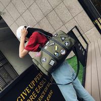 kore çantaları omuz çantası toptan satış-Pembe sugao Kore oxford yama moda seyahat çantası tasarımcı çanta omuz çantası su geçirmez duffle çanta bagaj seyahat çantaları
